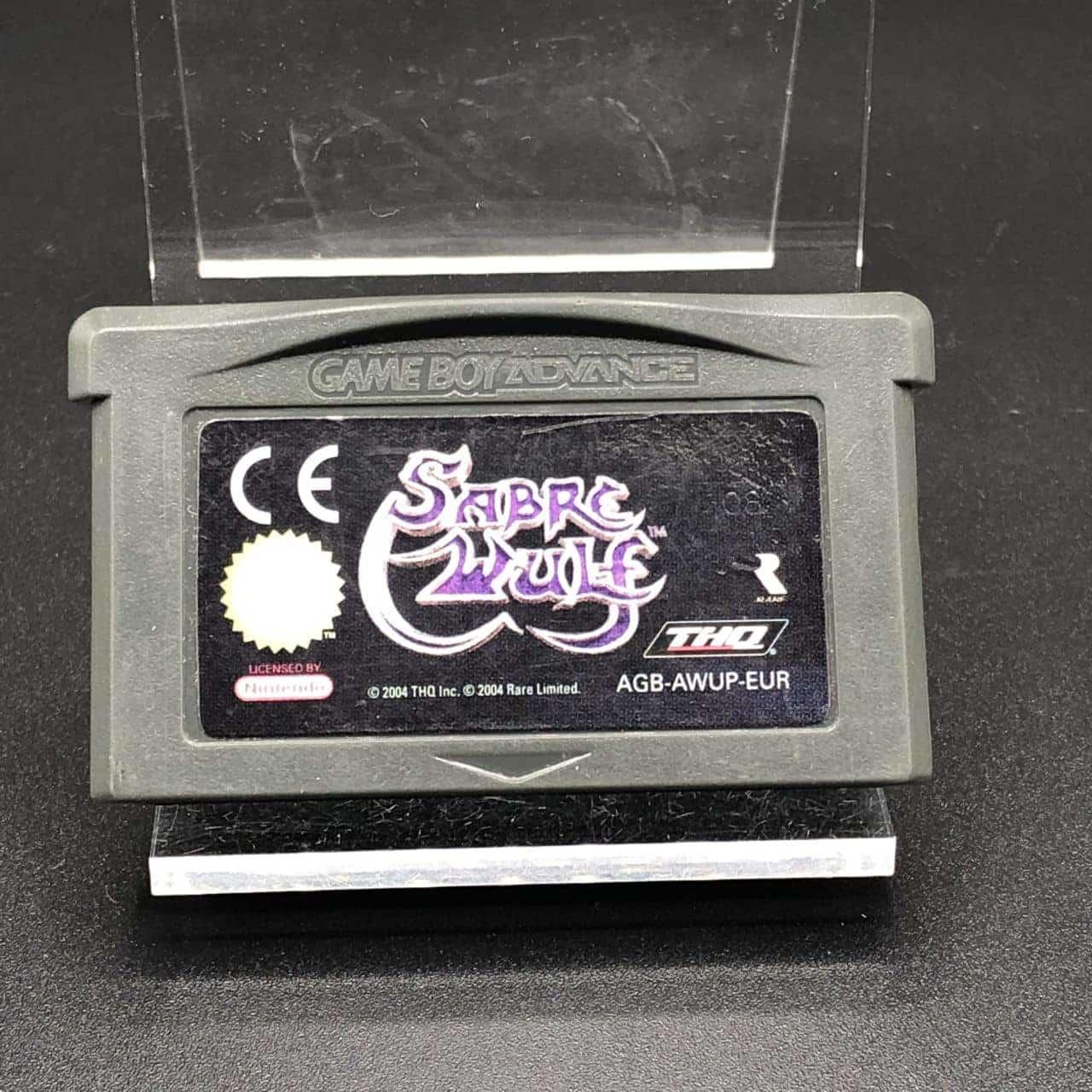 GBA Sabre Wulf (Modul) (Gut) Nintendo Game Boy Advance