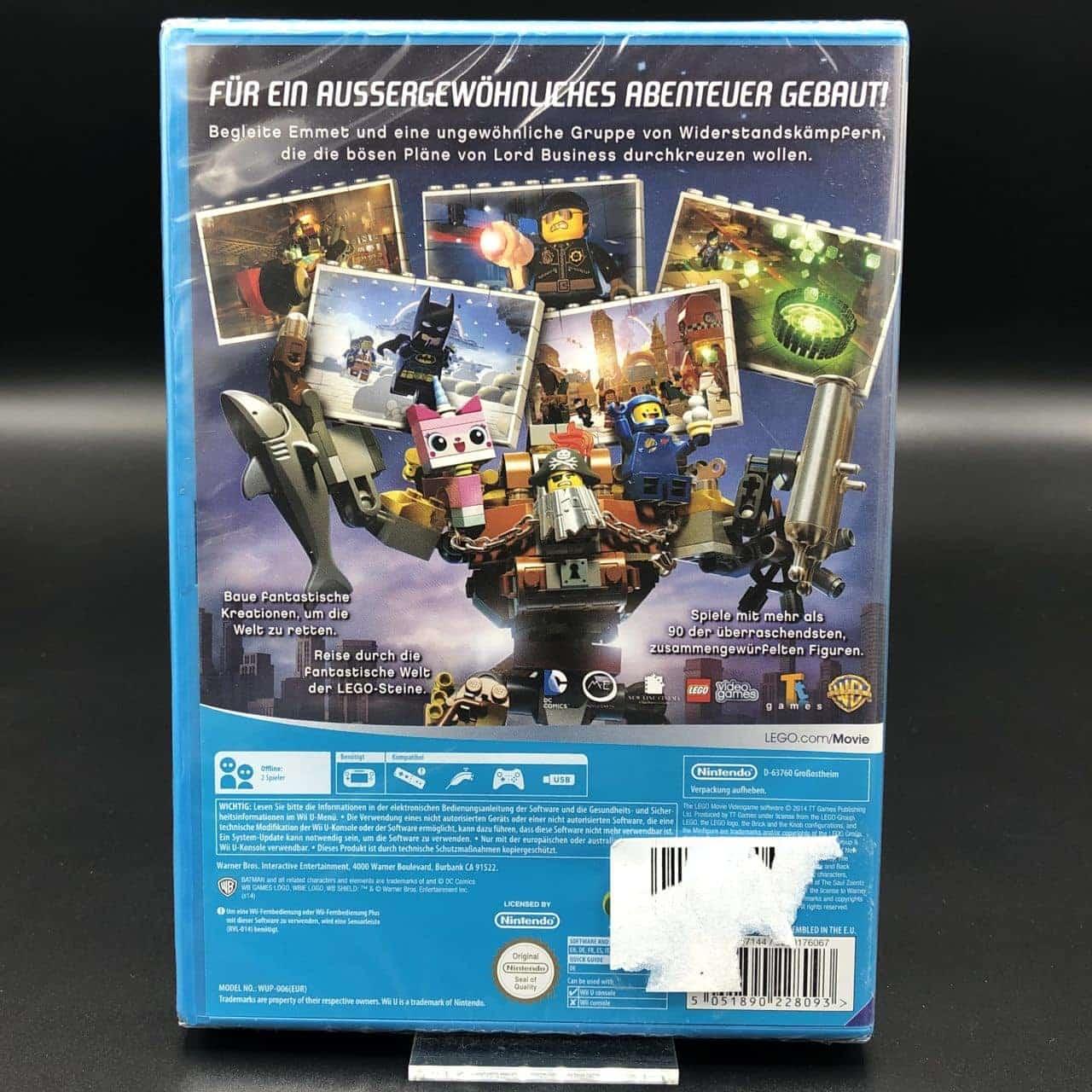 The Lego Movie Videogame (NEU) Nintendo WiiU