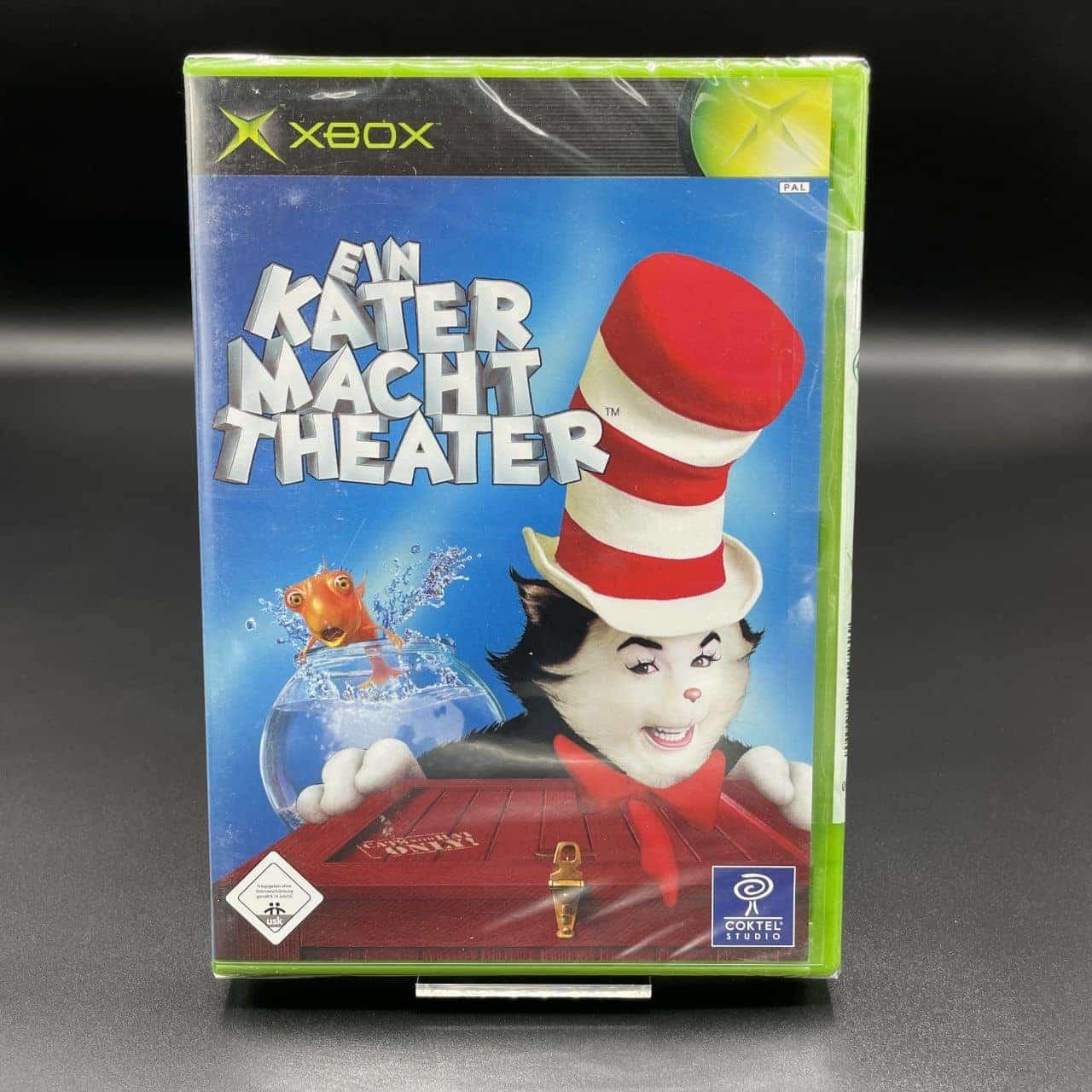 XBC Ein Kater macht Theater (NEU) Microsoft Xbox Classic