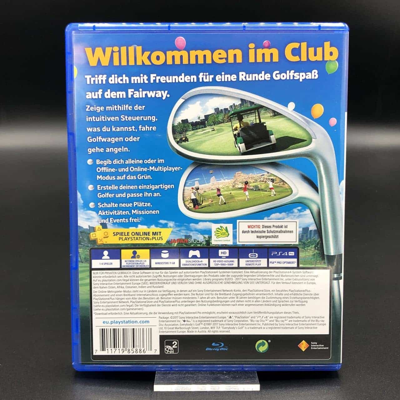 PS4 Everybody's Golf (Sehr gut) Sony PlayStation 4