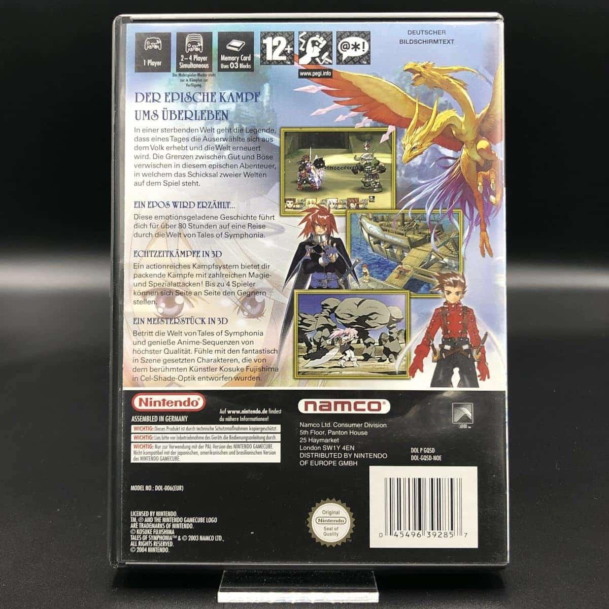 GC Tales of Symphonia (Komplett) (Sehr gut) Nintendo GameCube