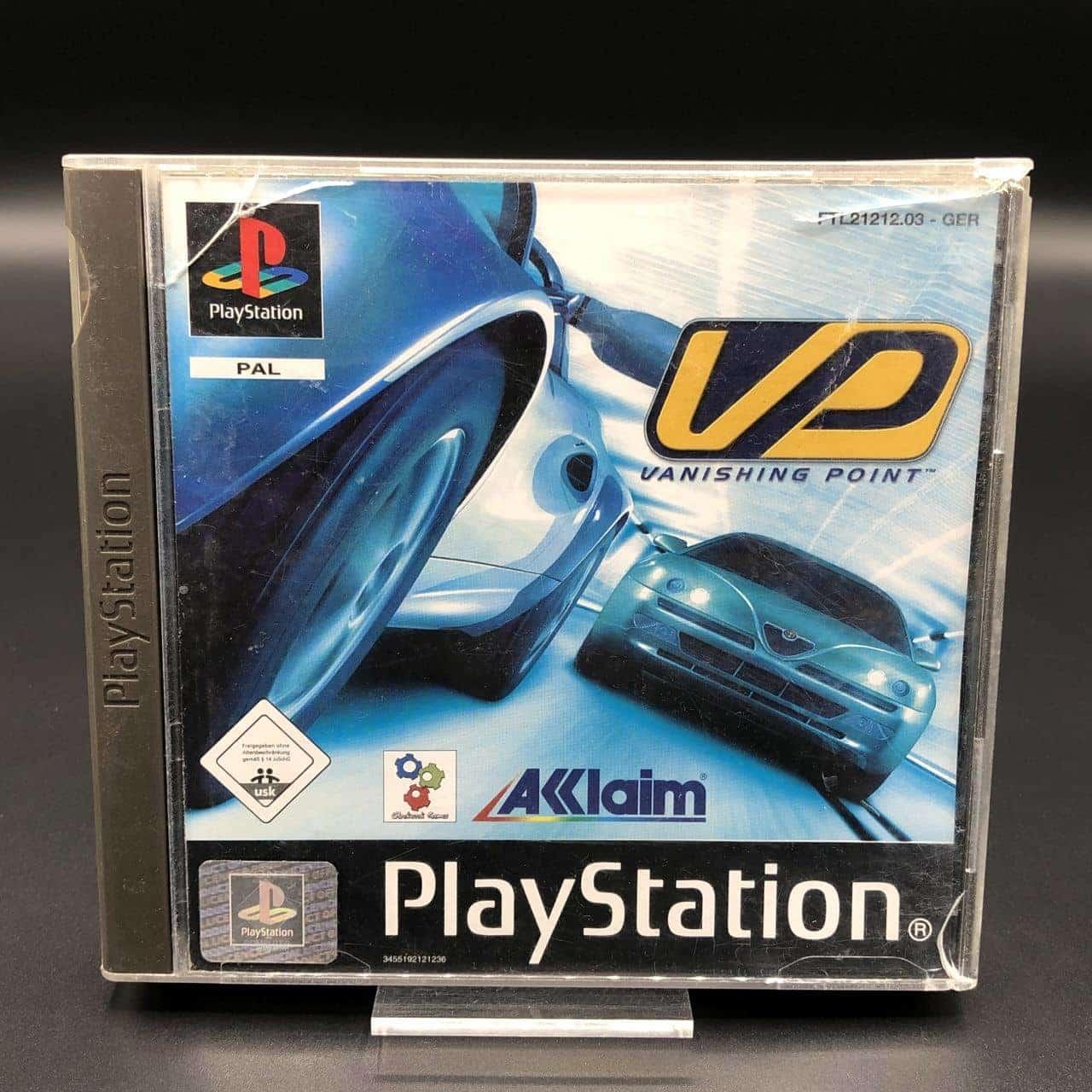 PS1 Vanishing Point (Komplett) (Sehr gut) Sony PlayStation 1