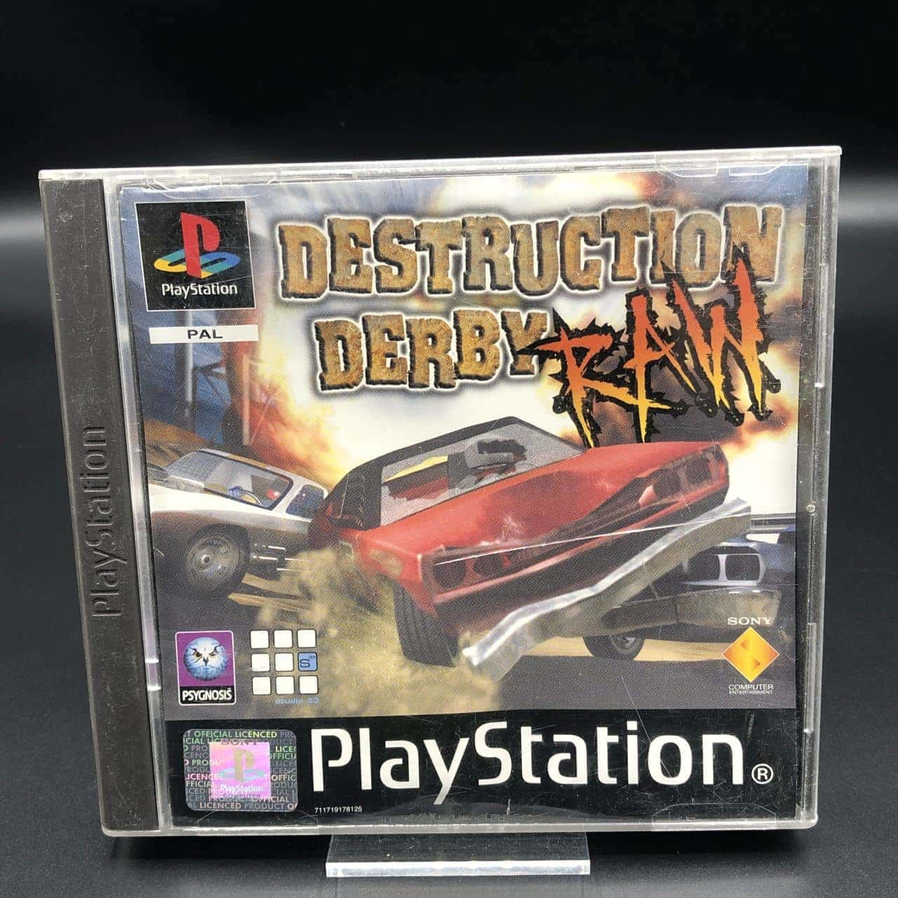 PS1 Destruction Derby Raw (ohne Anleitung) (Gut) Sony PlayStation 1