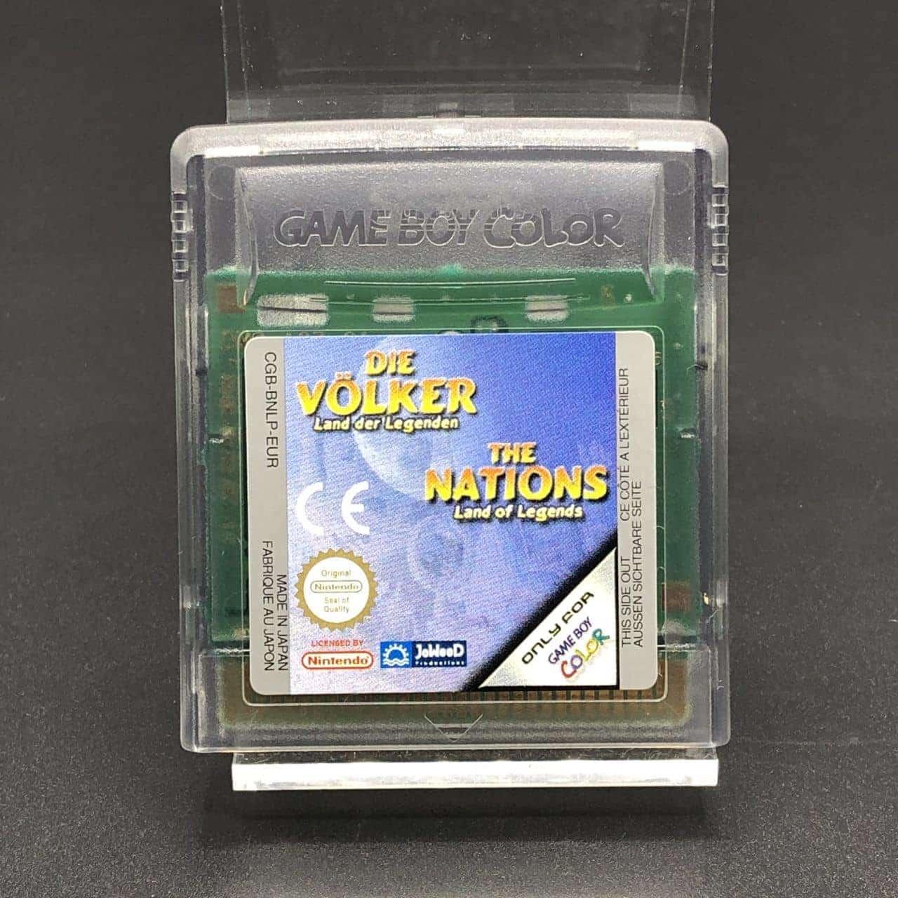 GBC Die Völker: Land der Legenden (Modul) (Sehr gut) Nintendo Game Boy Color
