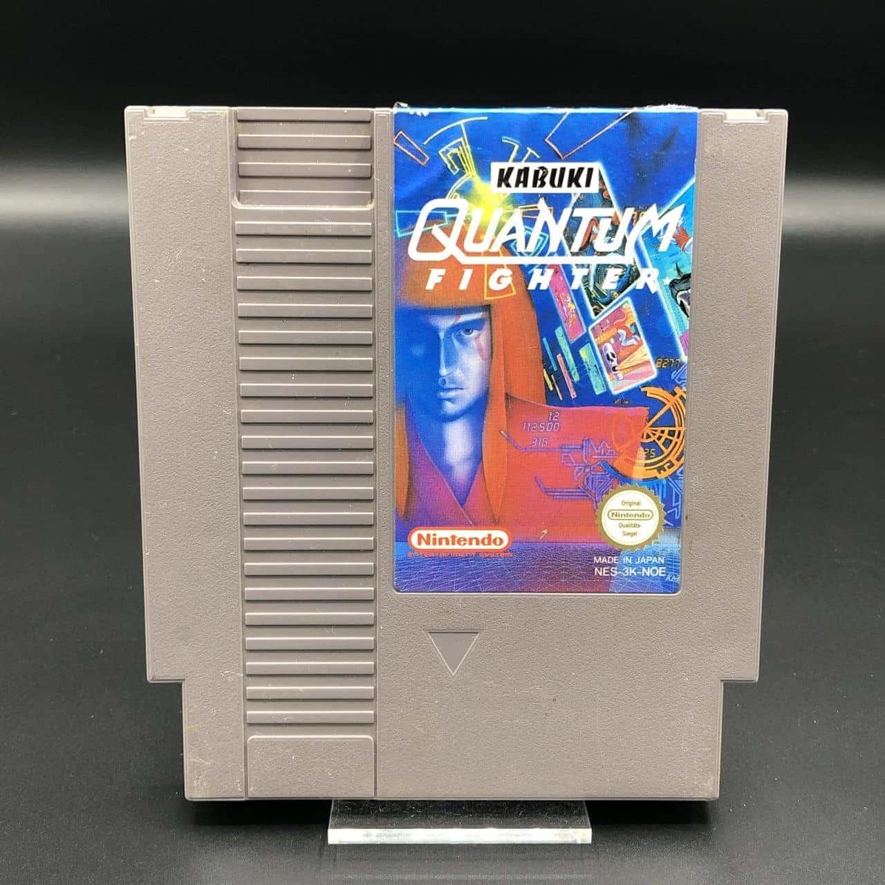 NES Kabuki Quantum Fighter (Modul) (Gebrauchsspuren) Nintendo Entertainment System