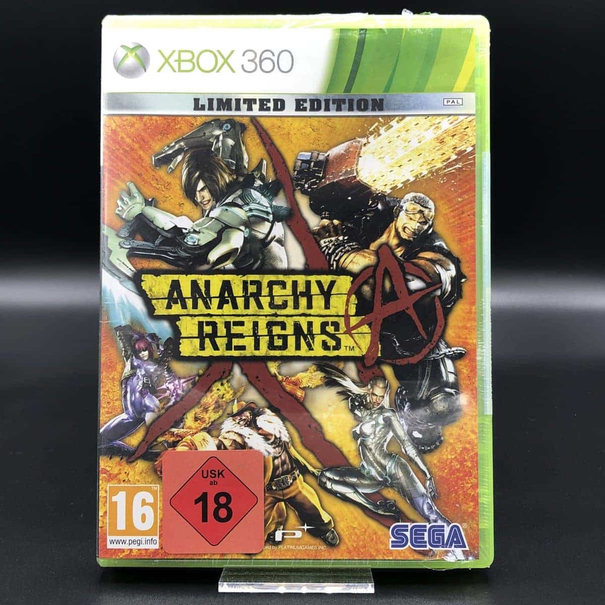 Anarchy Reigns (NEU) XBOX 360 (FSK18)