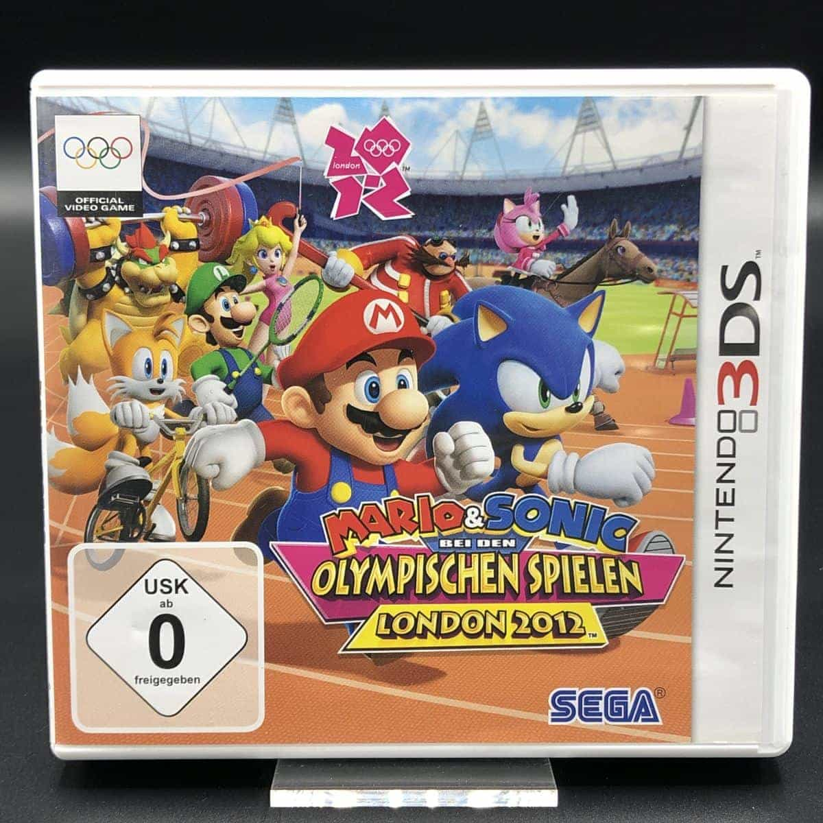 Mario & Sonic at the London 2012 Olympic Games (Komplett) (Sehr gut) Nintendo 3DS