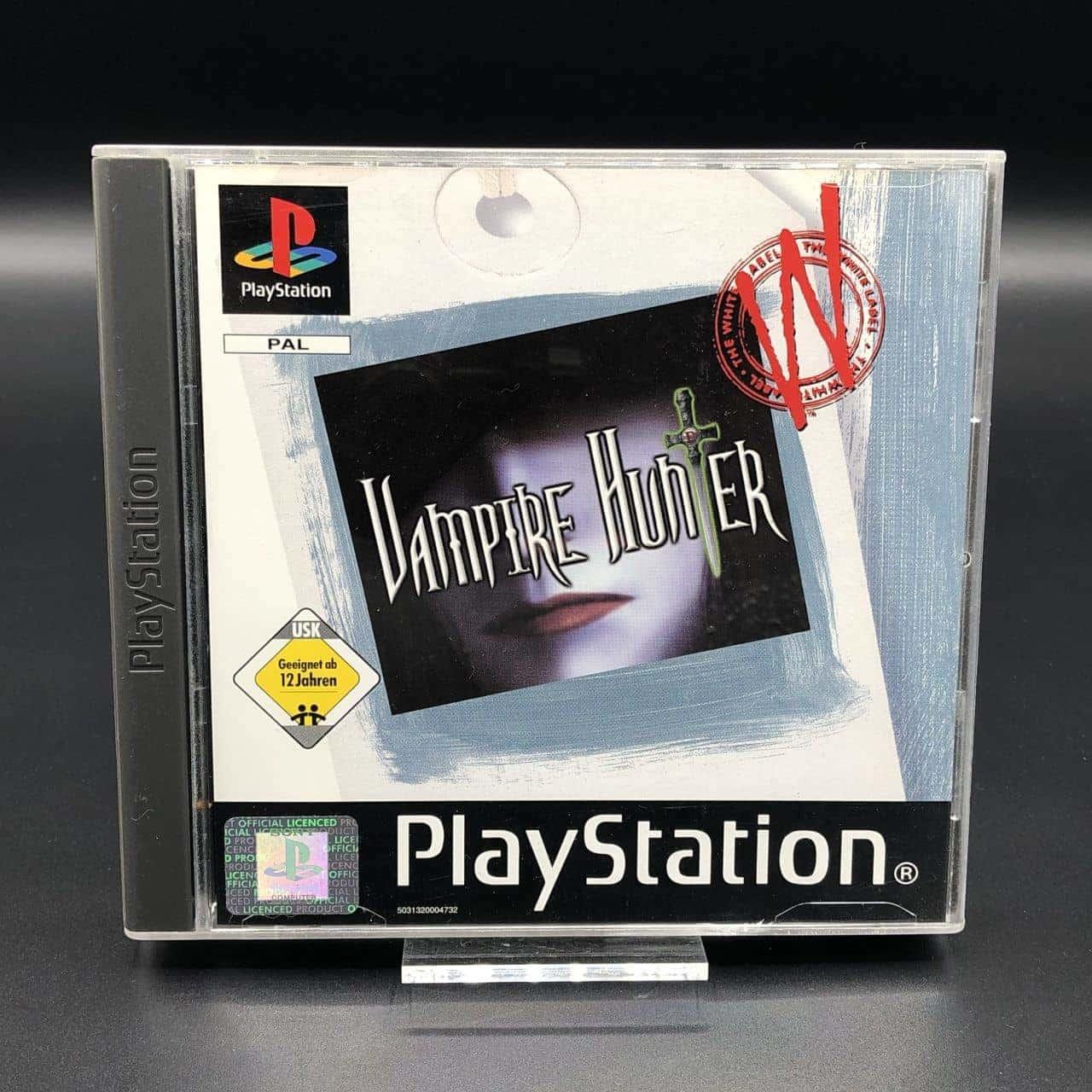 PS1 Vampire Hunter (The White Label) (Komplett) (Sehr gut) Sony PlayStation 1