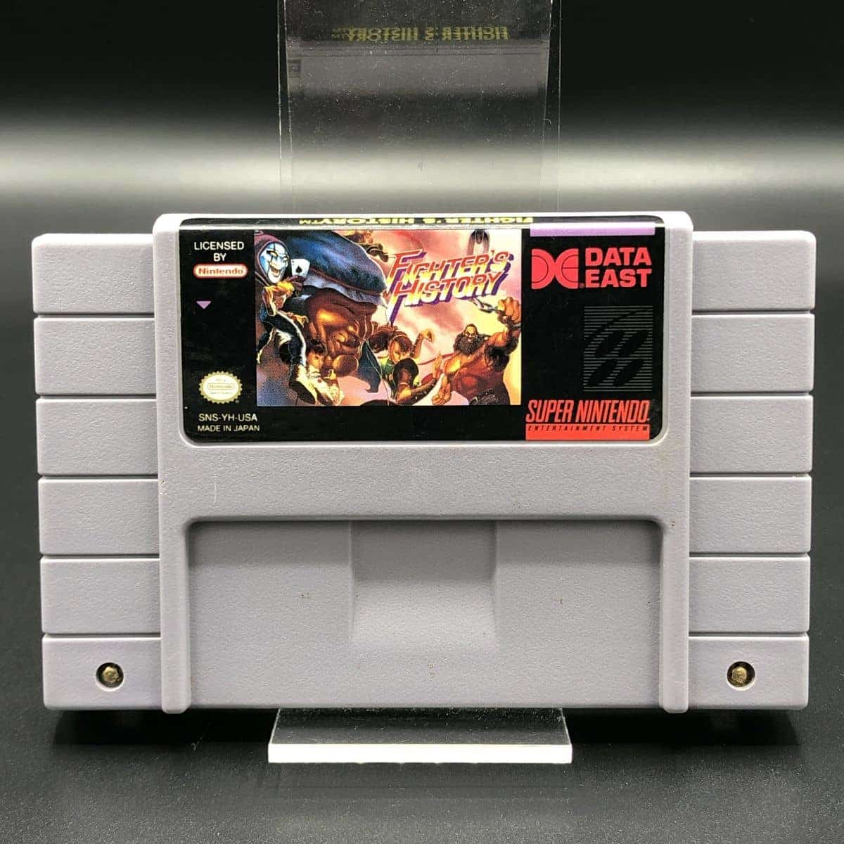 SNES Fighters History (Import) (Modul) (Sehr gut) Super Nintendo