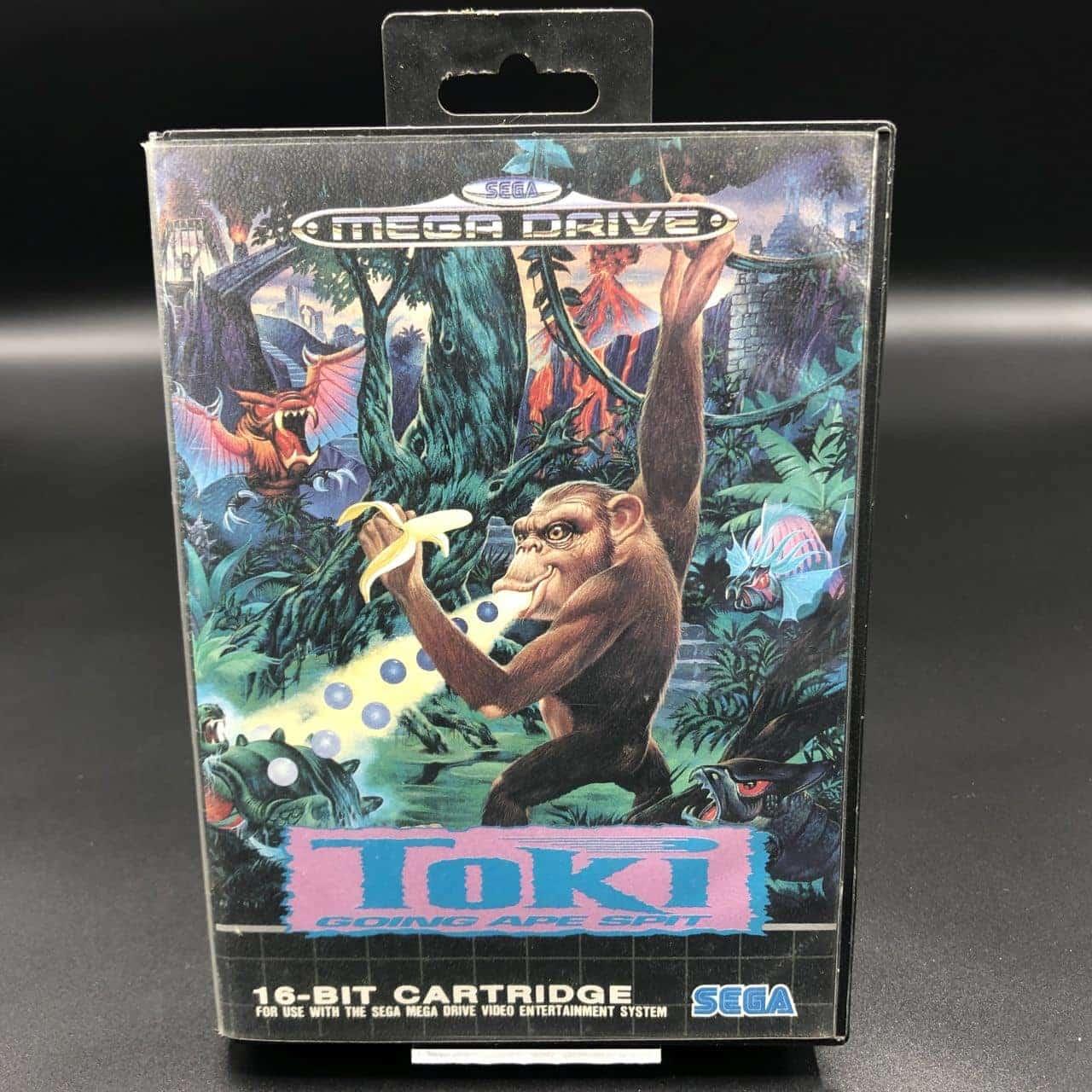Toki: Going Ape Spit (ohne Anleitung) (Gut) Sega Mega Drive