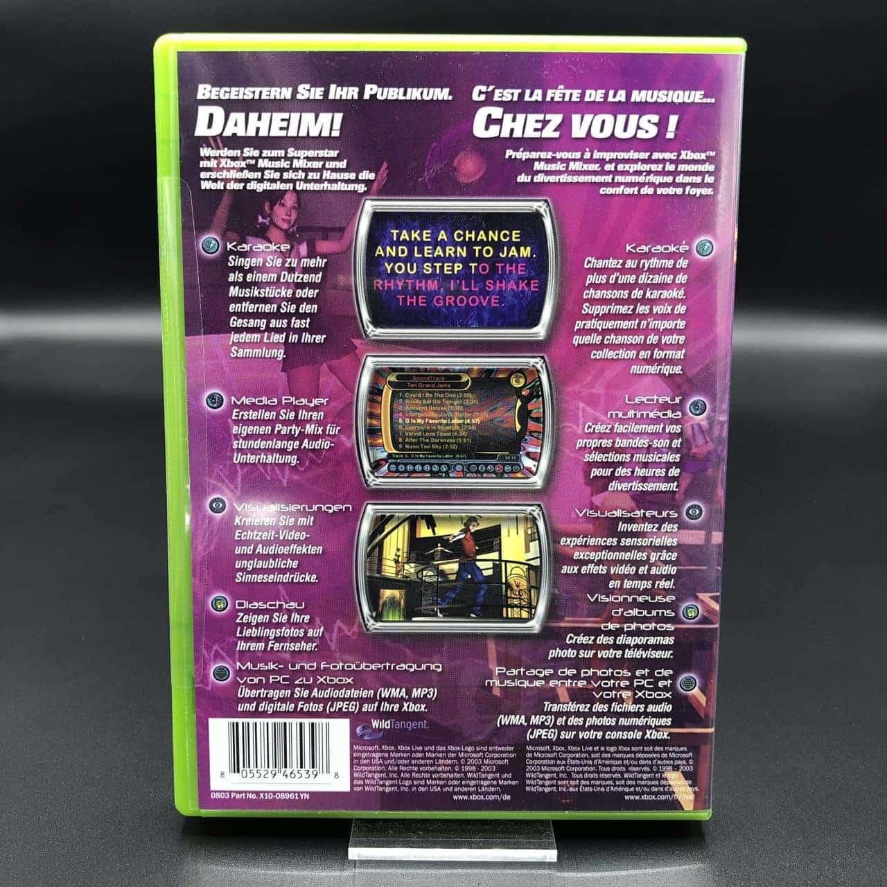 Xbox Music Mixer (NEU) inkl. 2 Mikrofone (Sehr gut) Xbox Classic
