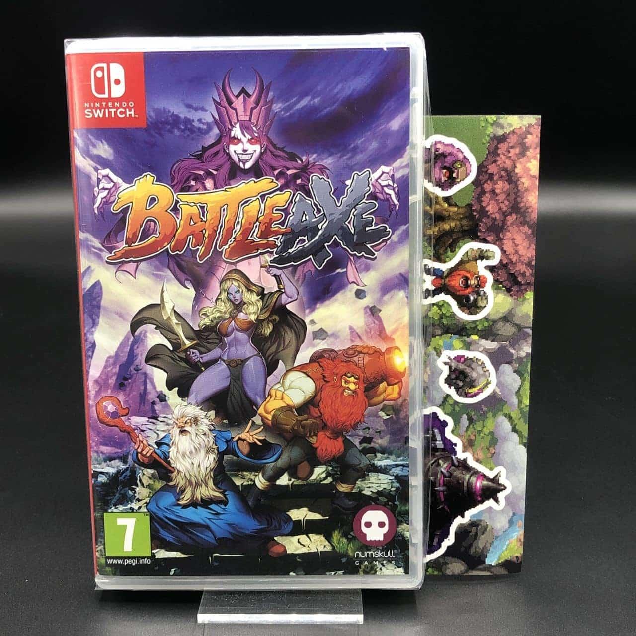 Battle Axe (Kickstarter) (NEU) Nintendo Switch