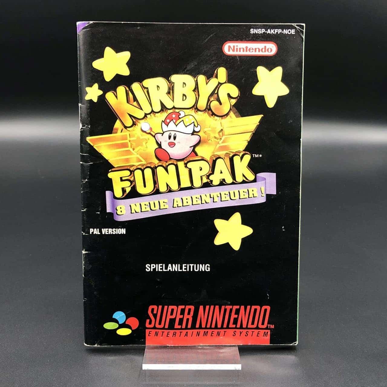 SNES Kirbys Fun Pak (Komplett) (Gut) Super Nintendo
