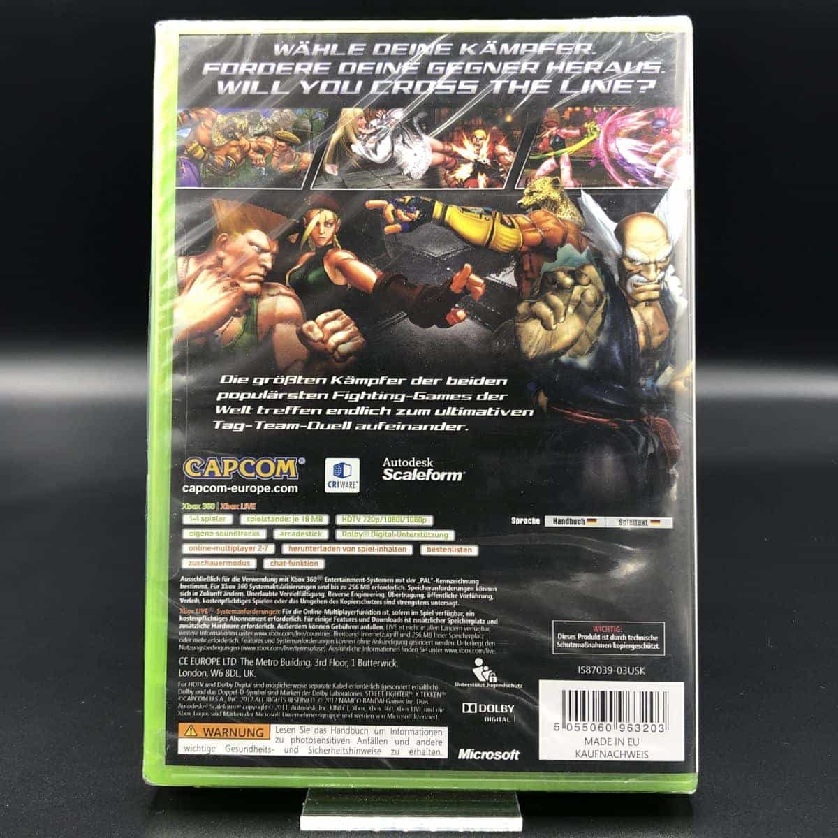 Street Fighter X Tekken (NEU) XBOX 360