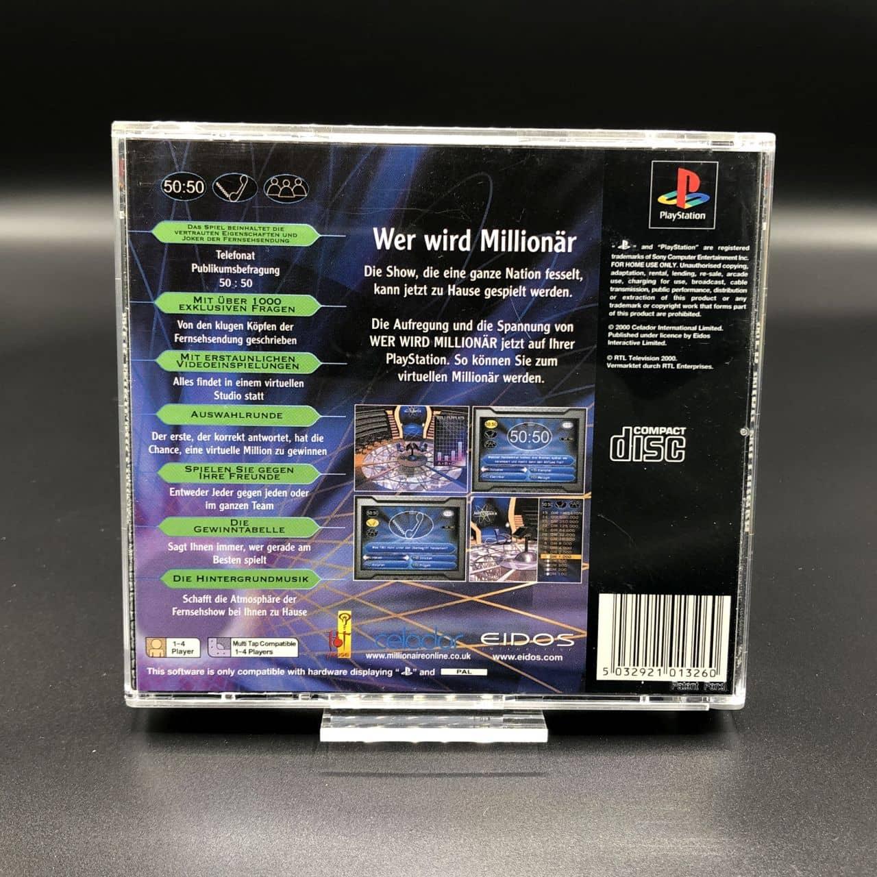 PS1 Wer wird Millionär? (Komplett) (Gut) Sony PlayStation 1
