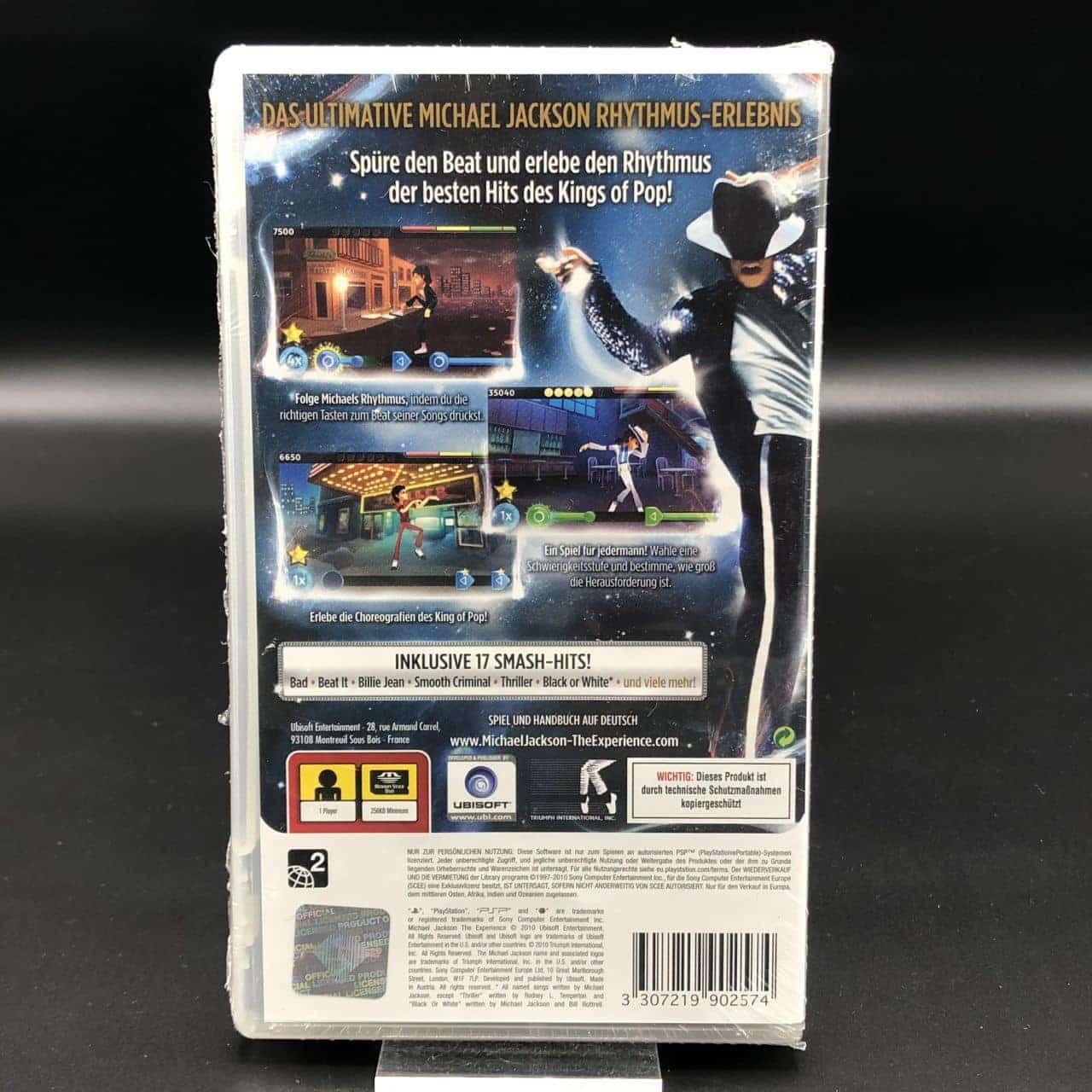PSP Michael Jackson: The Experience (NEU) Sony PlayStation Portable