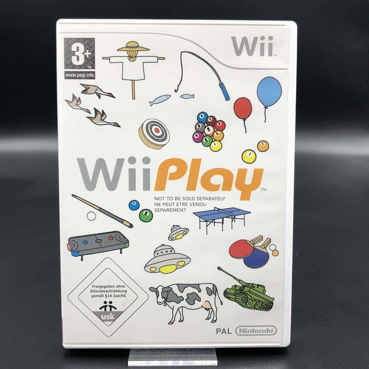 Wii Play (Komplett) (Gut) Nintendo Wii