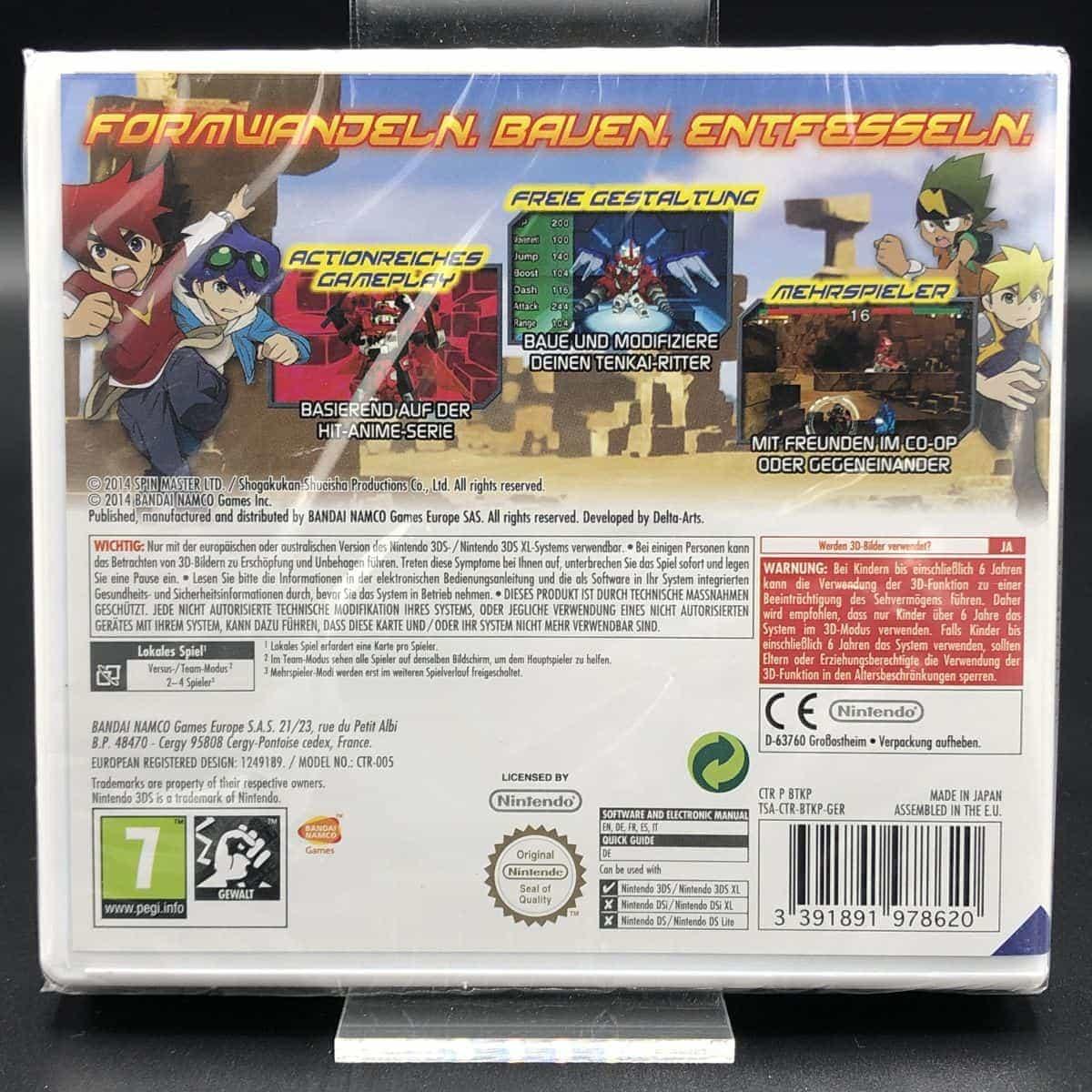 Tenkai Knights: Brave Battle (NEU) Nintendo 3DS
