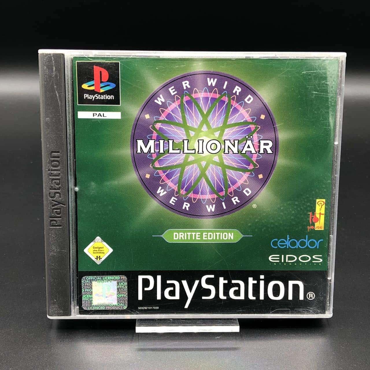 PS1 Wer wird Millionär: Dritte Edition (Komplett) (Sehr gut) Sony PlayStation 1