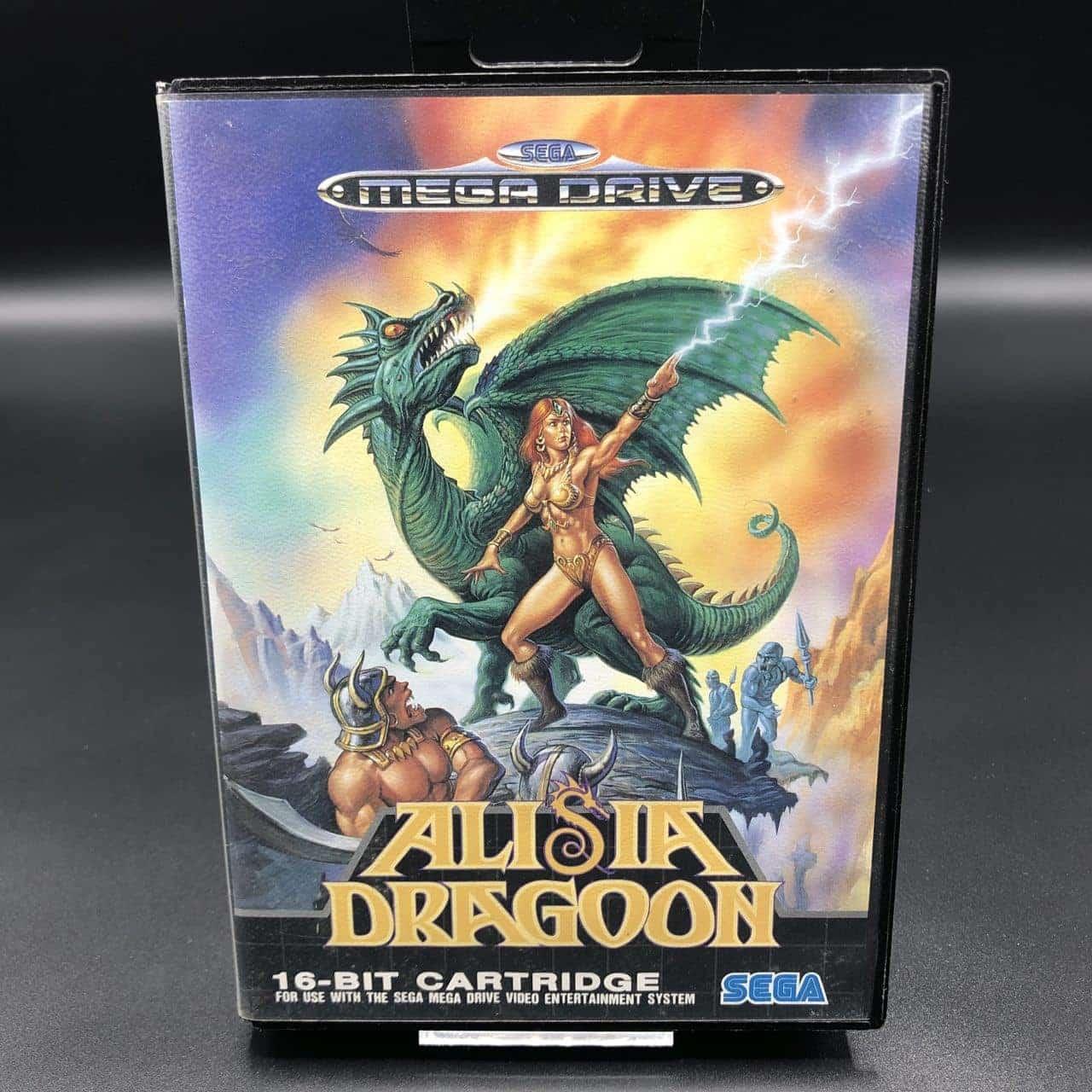 Alisia Dragoon (ohne Anleitung) (Gut) Sega Mega Drive