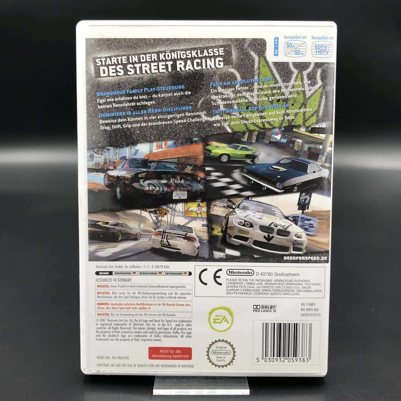 Need for Speed: ProStreet (Komplett) (Sehr gut) Nintendo Wii