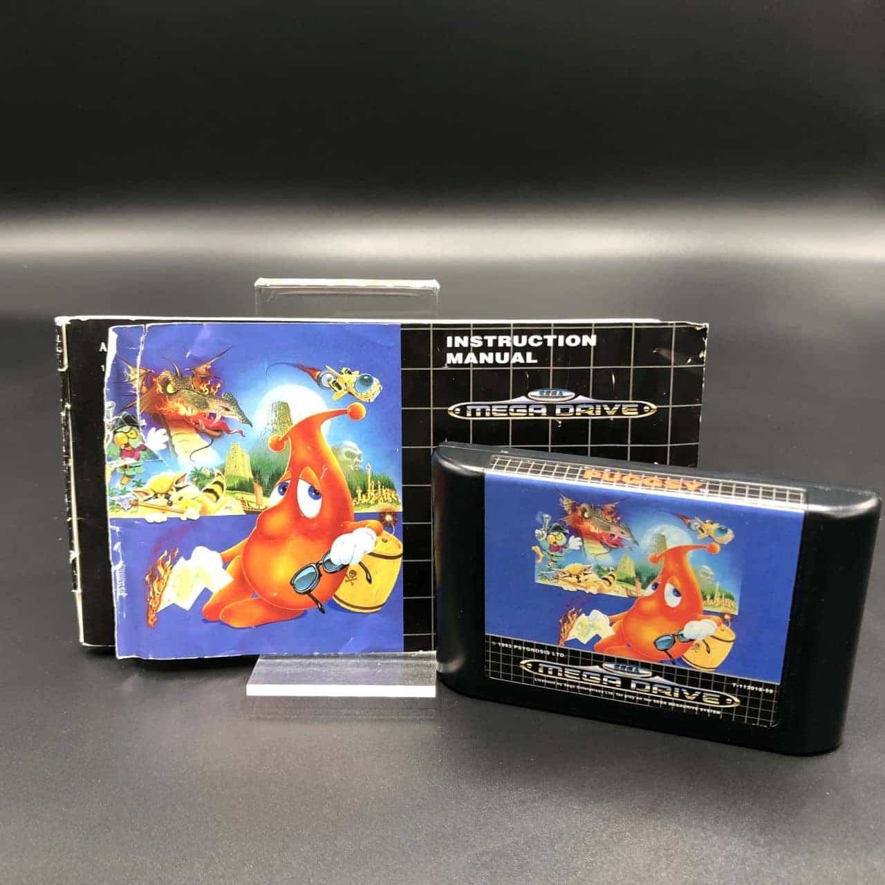 Puggsy (Komplett) (Gut) Sega Mega Drive