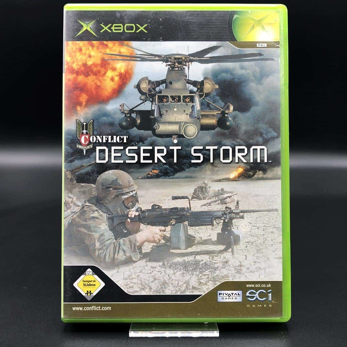 XBC Conflict: Desert Storm (Komplett) (Gut)  Microsoft Xbox Classic