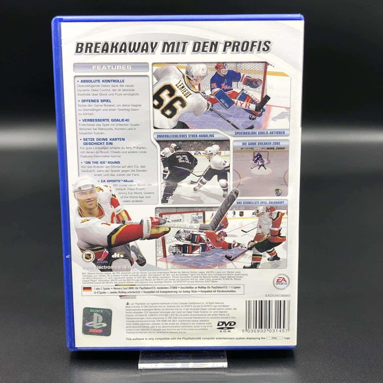 PS2 NHL 2003 (Komplett) (Gut) Sony PlayStation 2