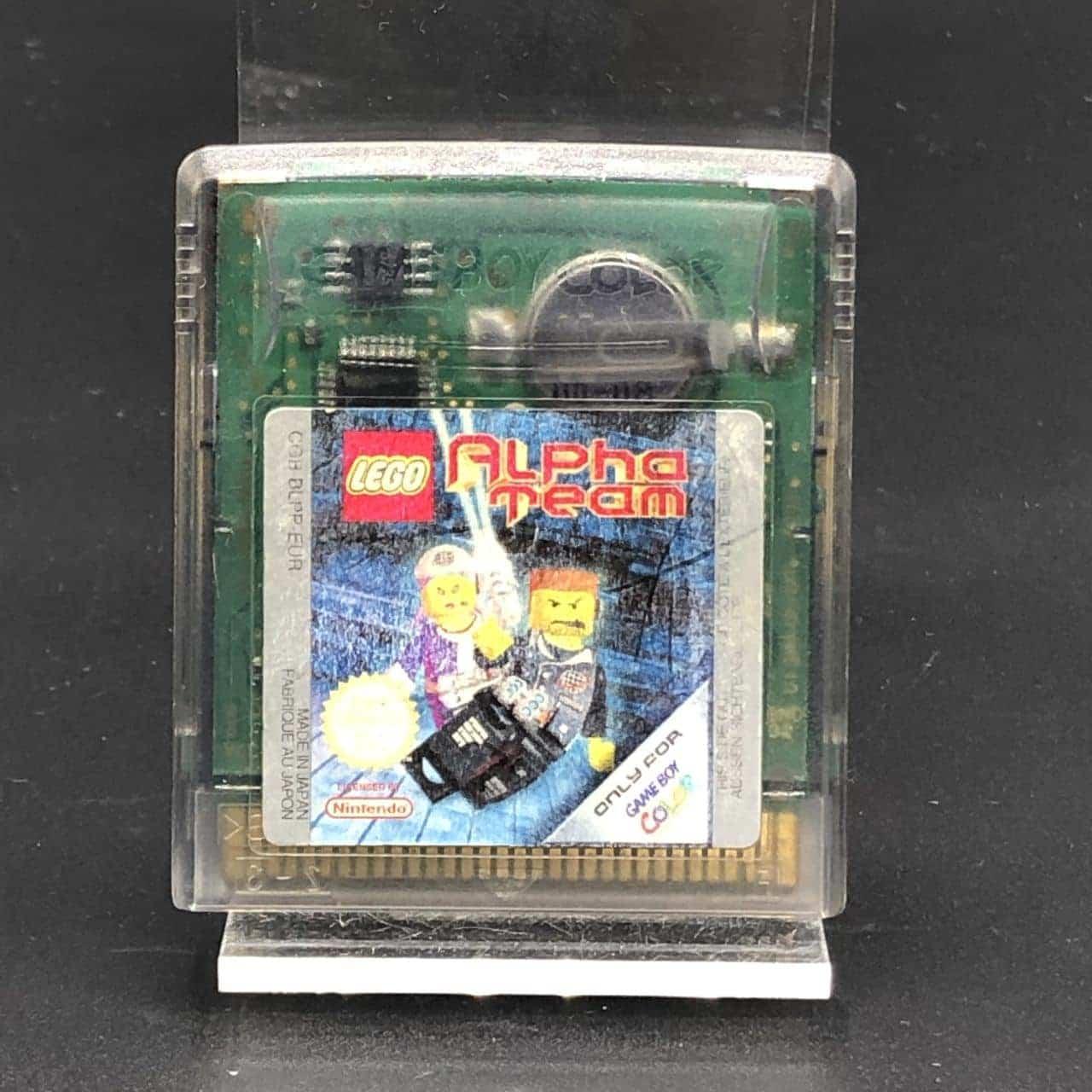 GBC Lego Alpha Team (Modul) (Gebrauchsspuren) Nintendo Game Boy Color