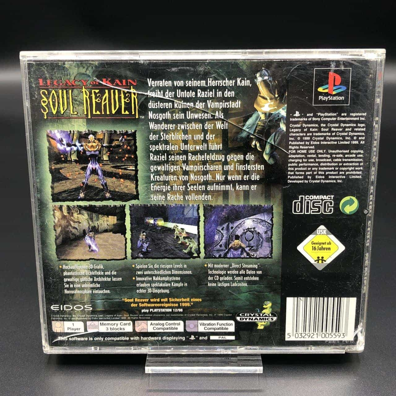 PS1 Legacy of Kain: Soul Reaver (Komplett) (Gut) Sony PlayStation 1