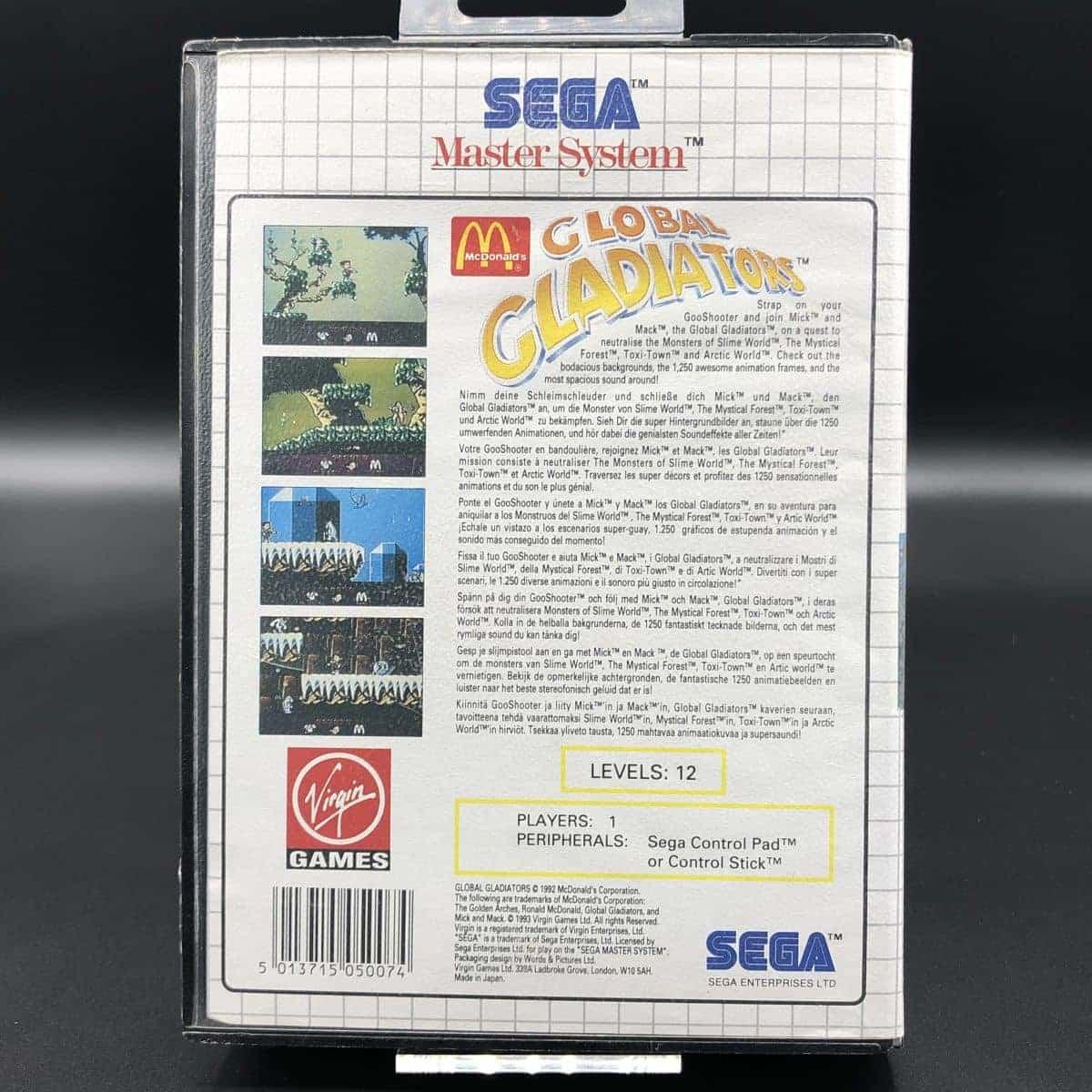 Global Gladiators (Komplett) (Gut) Sega Master System
