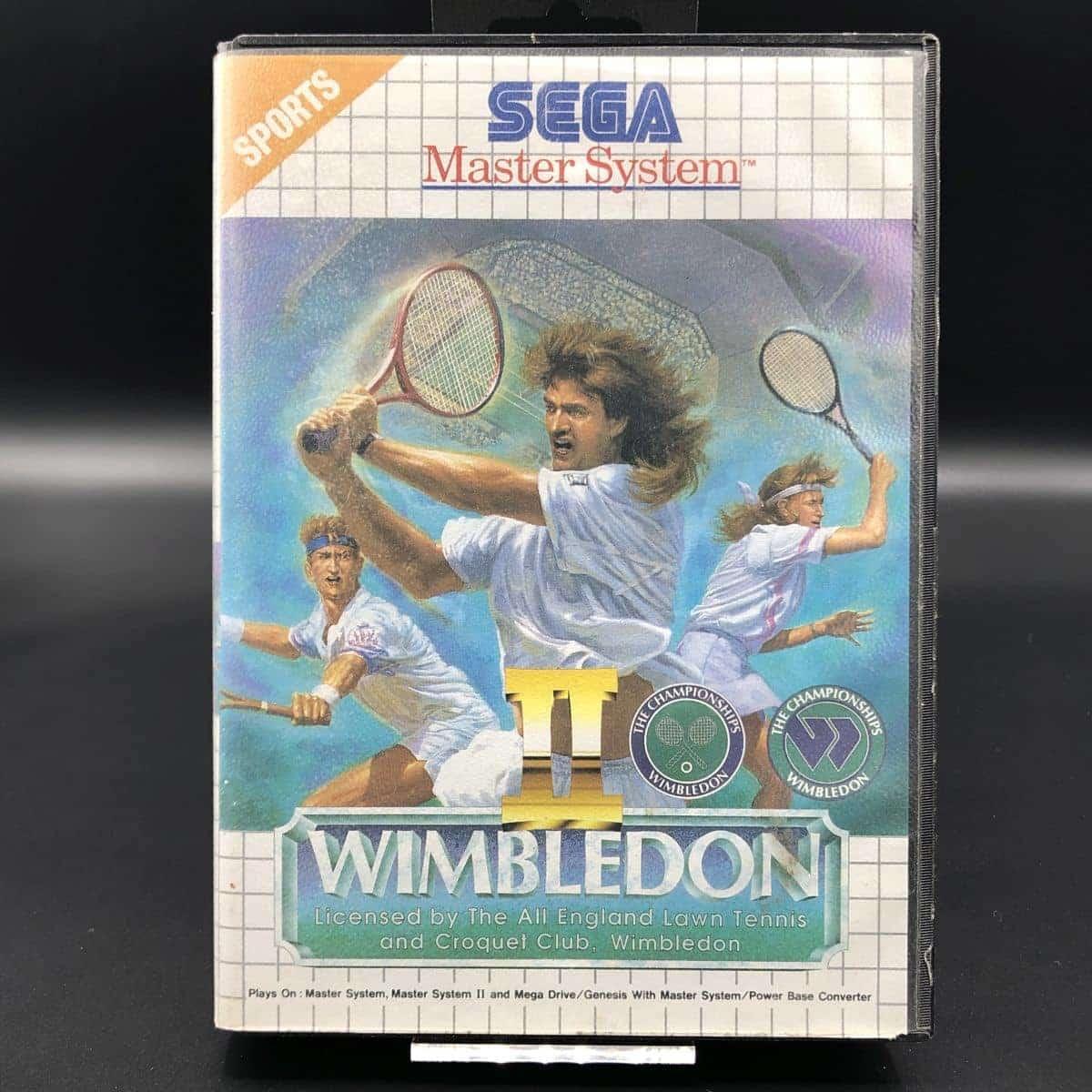 Wimbledon 2 (ohne Anleitung) (Gut) Sega Master System